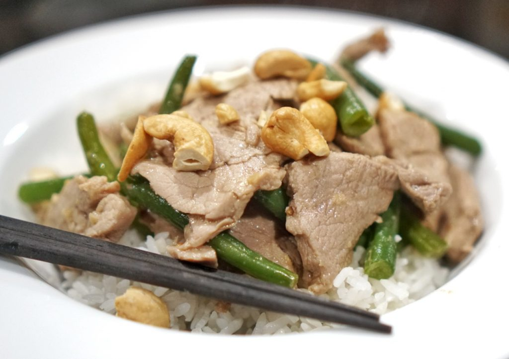 Quick and Easy Pork and Green Bean Stir-fry