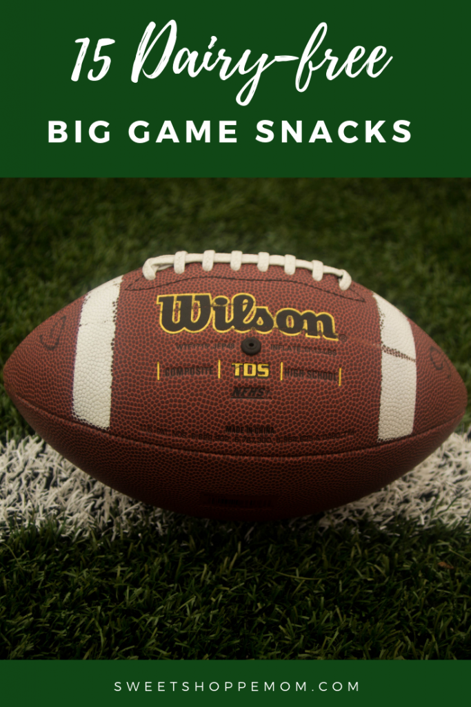 dairy free big game snacks