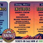 Music and Baseball, together: Innings 2-day Music Festival in Tempe, AZ