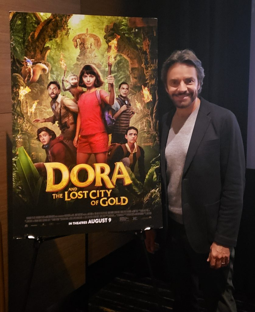 Dora and the Lost City of Gold Interview with Eugenio Derbez