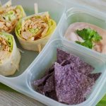 Salsa Chicken Pinwheels with Dipping Sauce Perfect for Easy Lunches