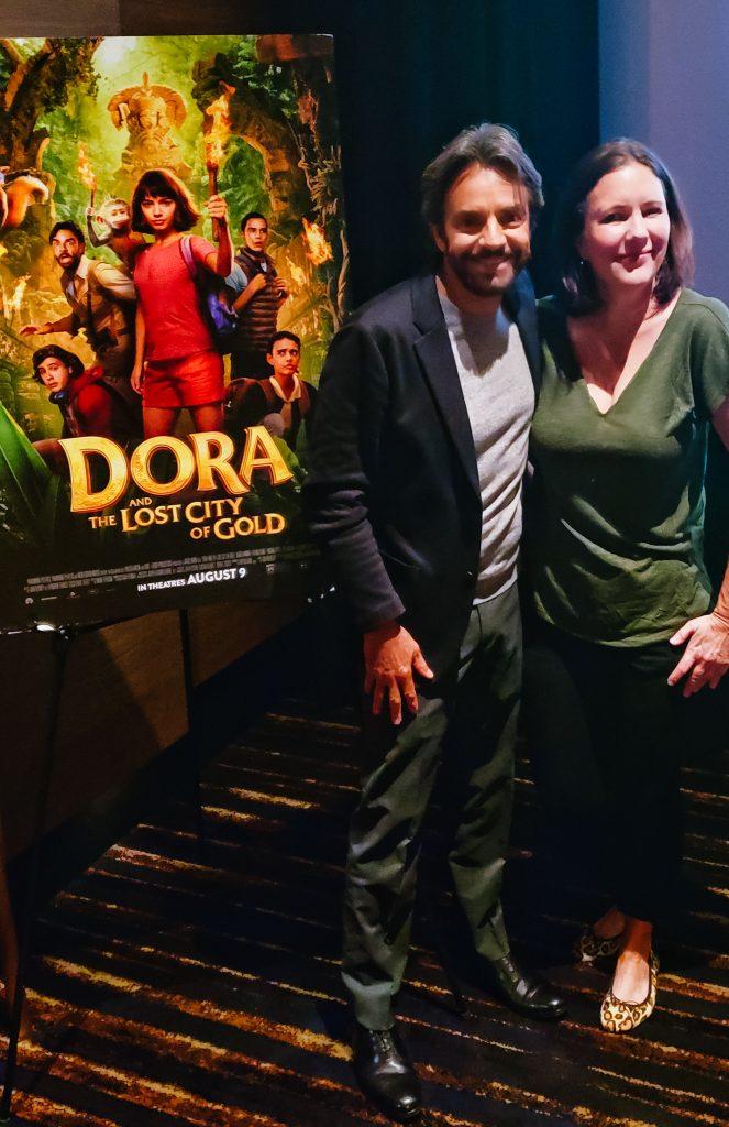 Dora movie Eugenio Derbez Sweet Shoppe Mom