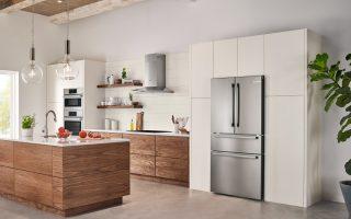 Loving the new design of the Bosch Counter-Depth Refrigerator