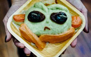 Baby Yoda Steamed Bao Buns at Hot Bamboo, Chandler AZ