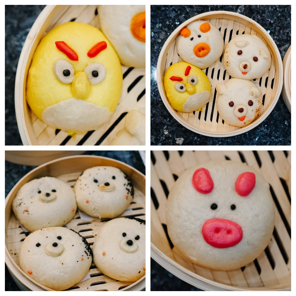 Hot Bamboo Steamed Buns