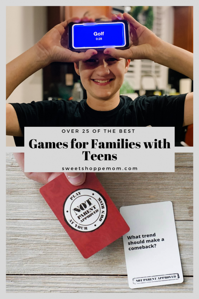 Family Game Night with Teens