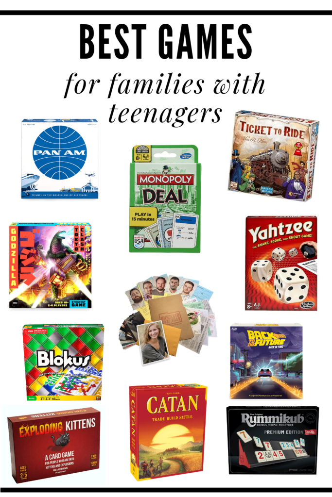 Best Board Games For Teenagers