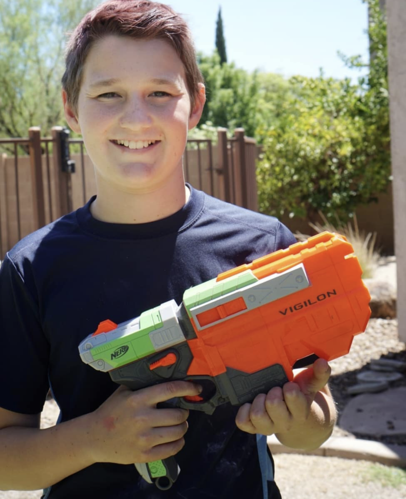 Family Nerf Blaster Shootout