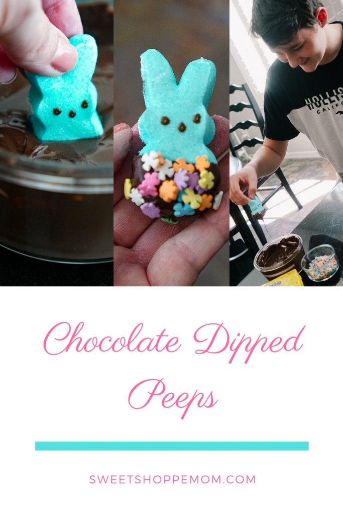 Chocolate Dipped Easter Peeps