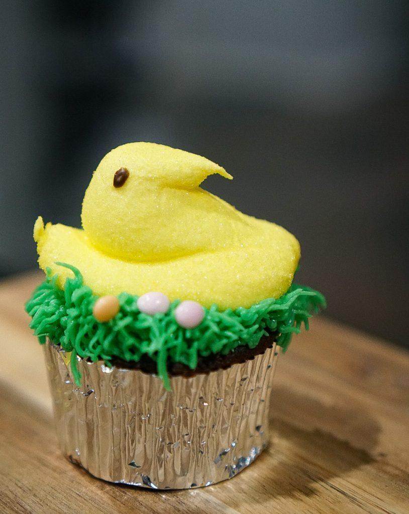 Easy Cupcake Design for Easter Dessert