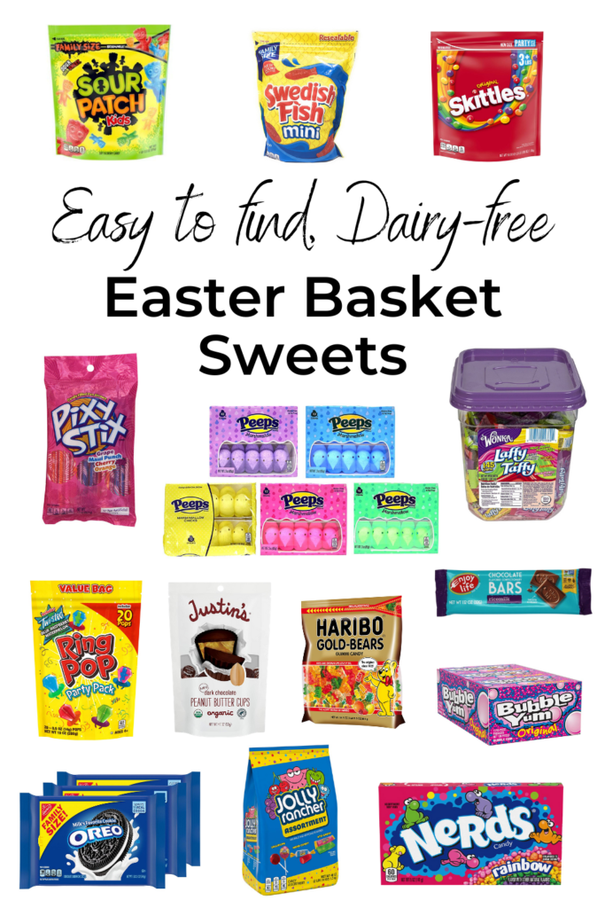 Easy to find Dairy-Free Sweets for Easter