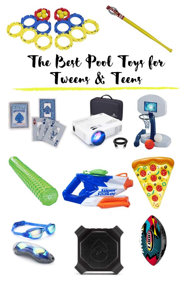 The BEST Pool Toys for Tweens & Teens