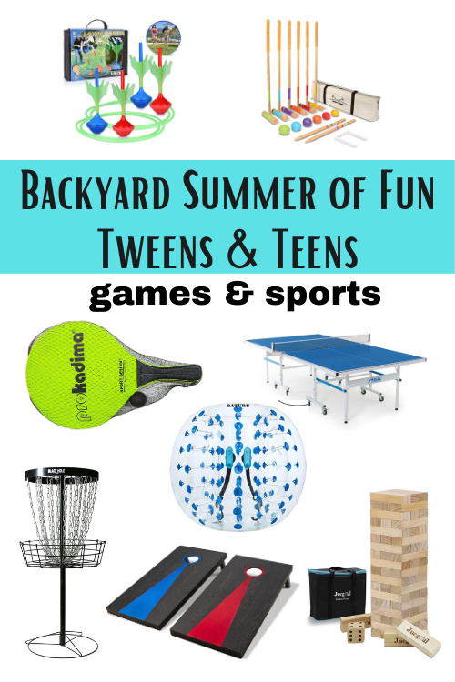Backyard Summer of Fun Games and Sports