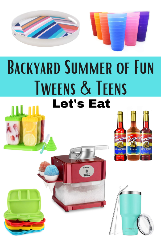 Backyard Summer of Fun Lets Eat