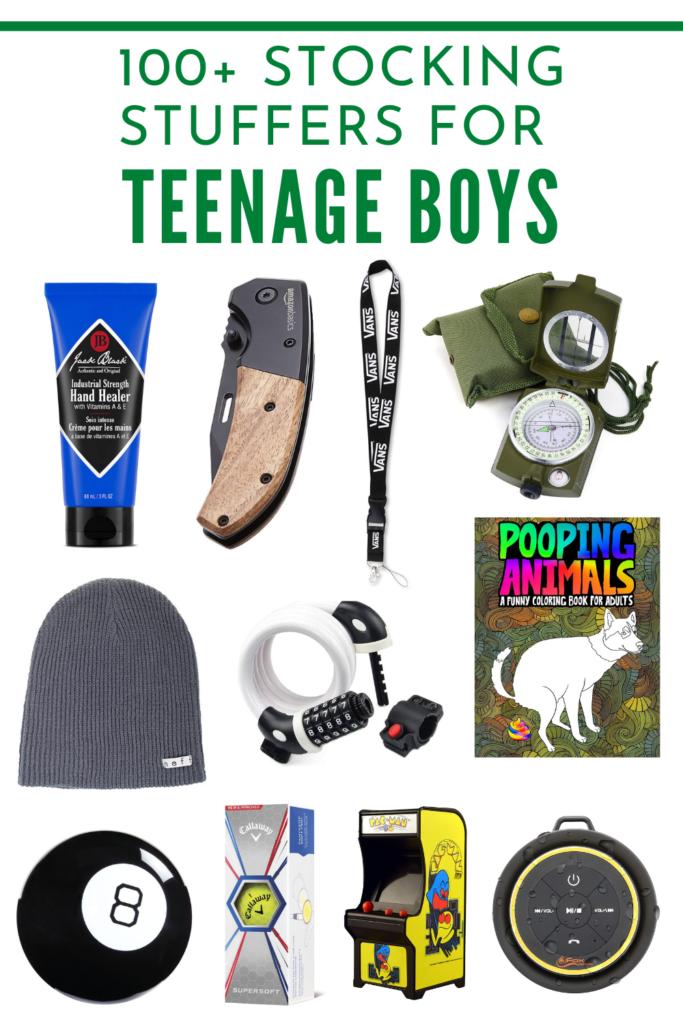 100+ Stocking Stuffers for Teen Boys