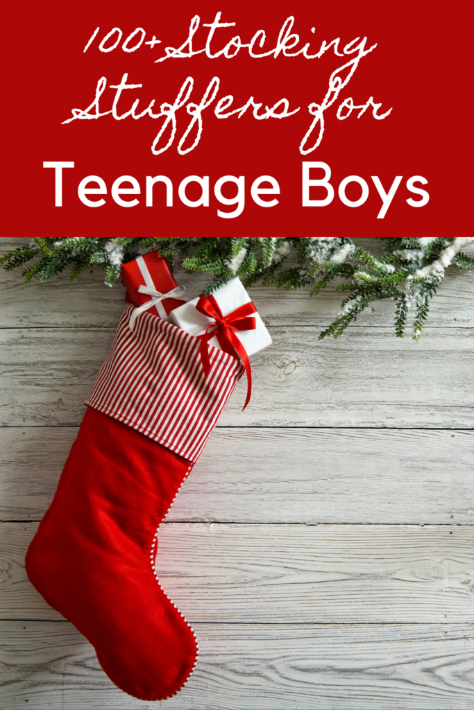 100+ Stocking Stuffer Ideas for Teenage Boys