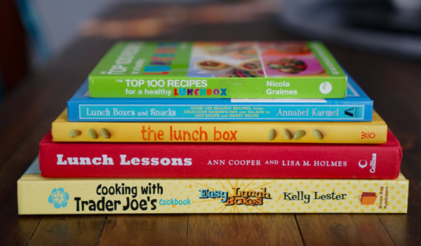 BEST cookbooks for kid lunches