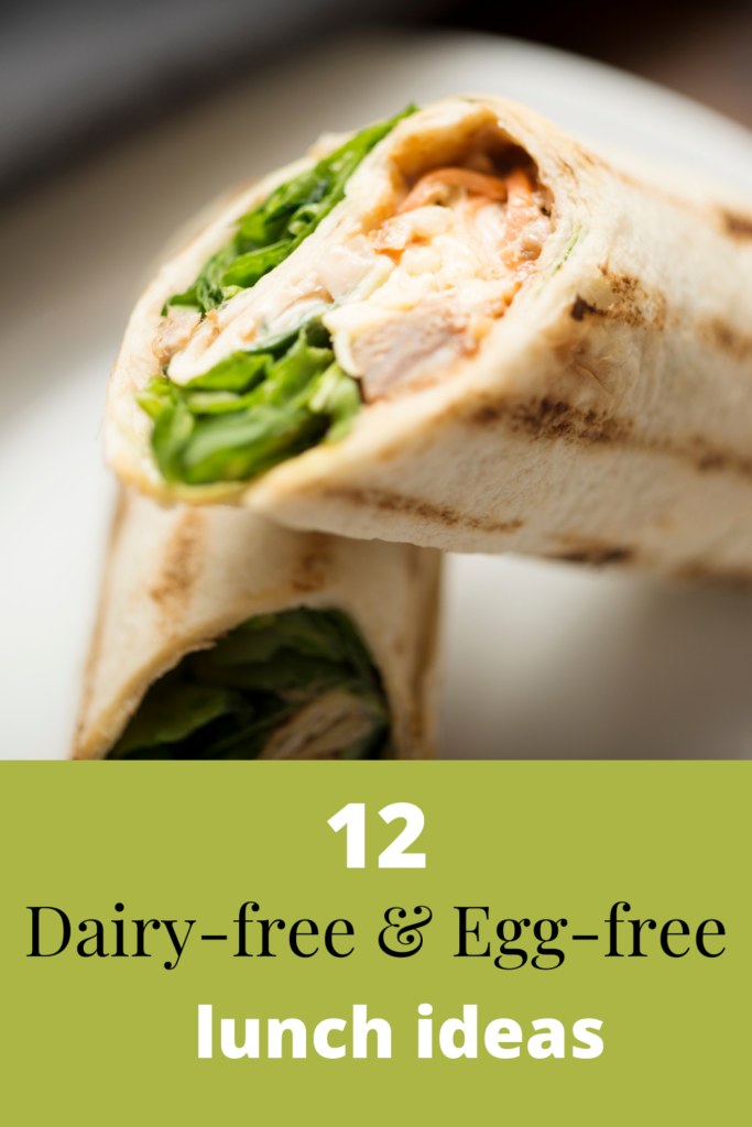 Dairy-free and Egg-free lunch ideas