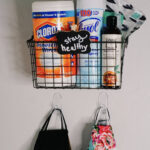 DIY Mask & Sanitizing Station for your Home