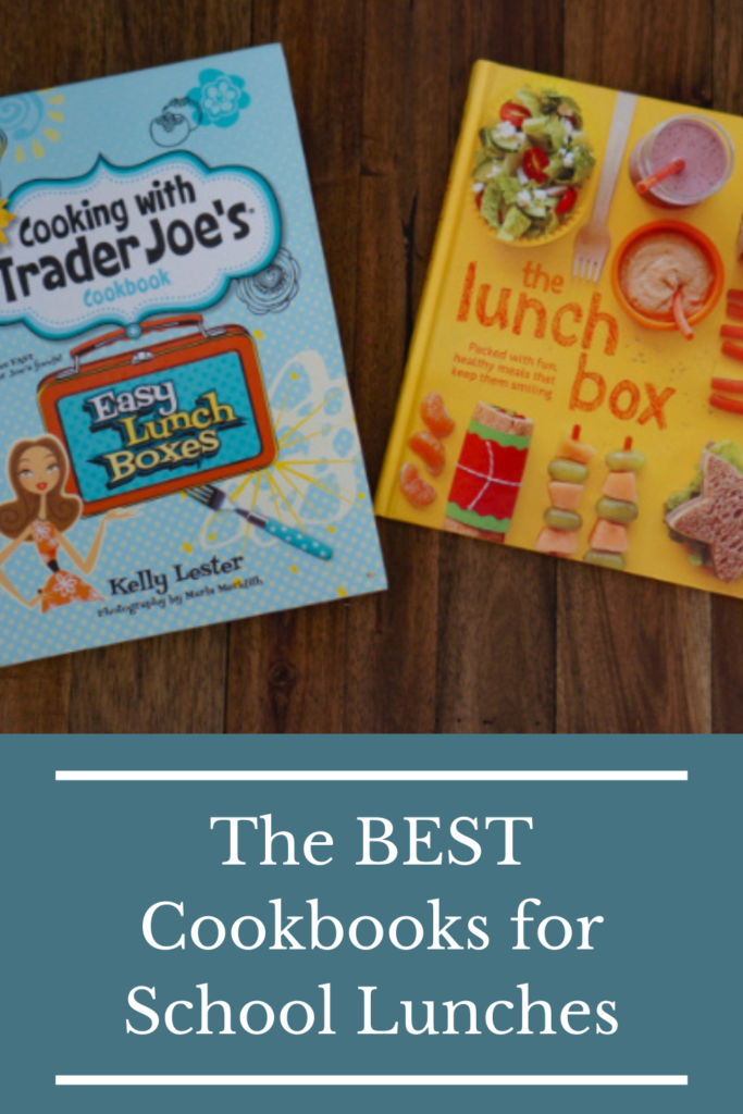 The BEST cookbooks for school lunch