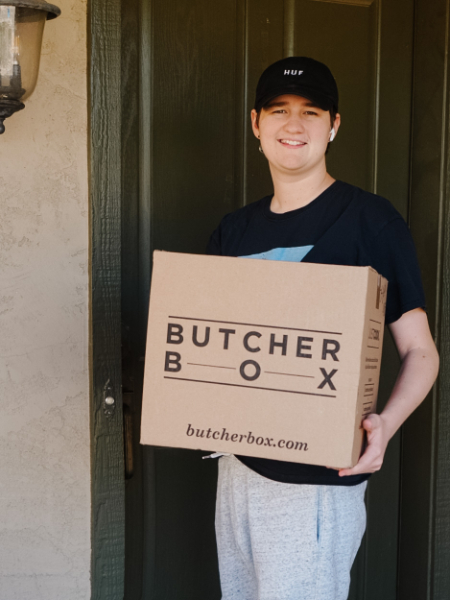 Butcher Box meat subscription delivered to front door