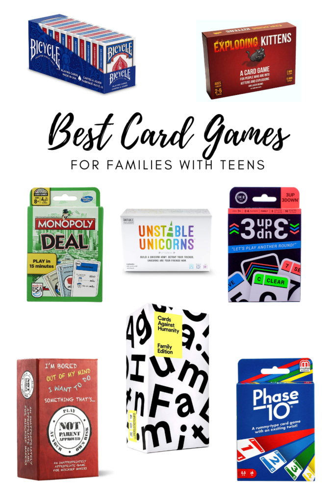 Best Card Games for Teens
