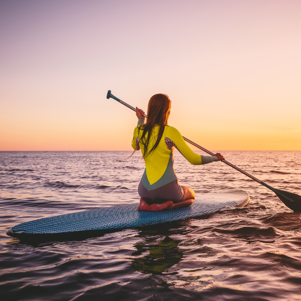 Paddle Boarding Summer for Teens