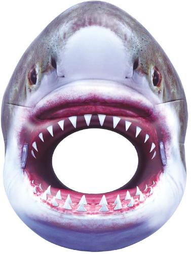 Shark Jaws pool float