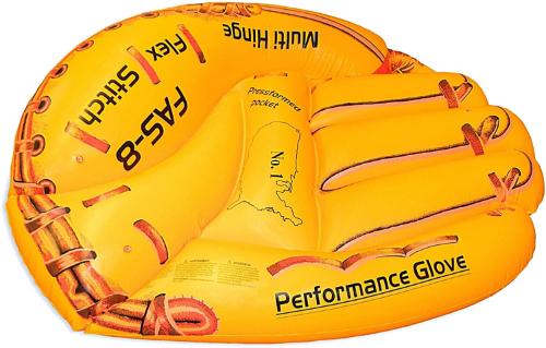 baseball glove pool float