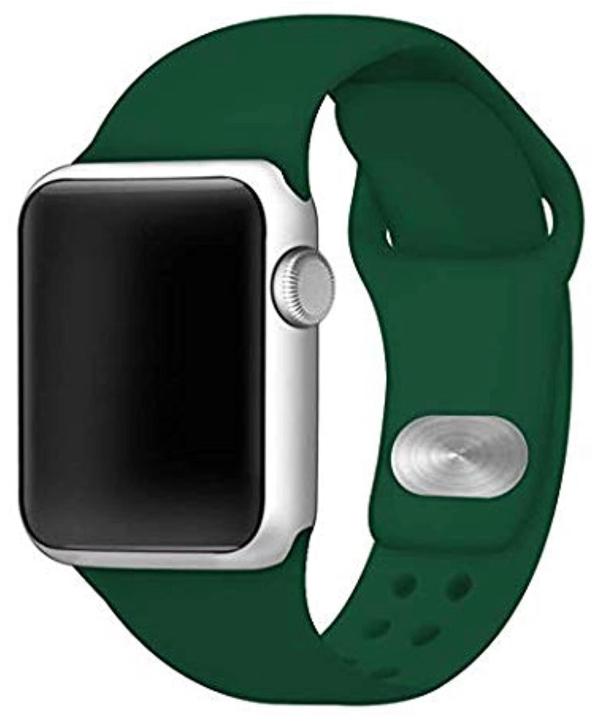 green Apple watch band