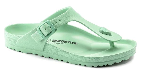 green Birkenstock