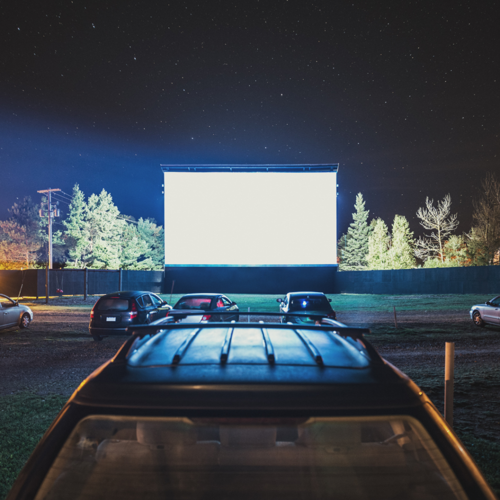 Drive-in movie Summer Bucket List Teens