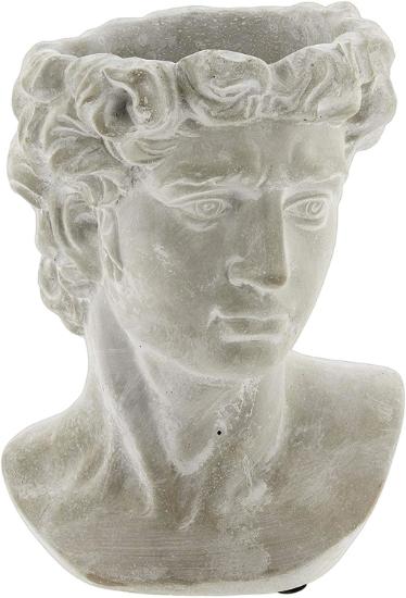 Greek Statue head planter