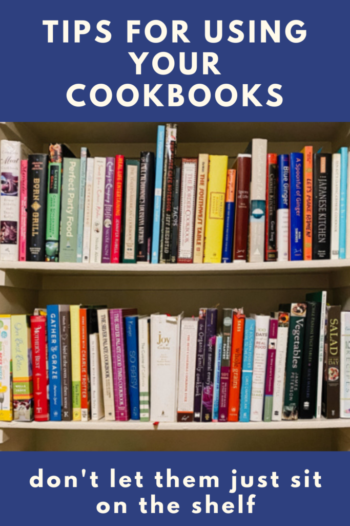Tips for using your cookbooks