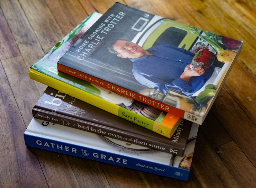 cook from your cookbooks