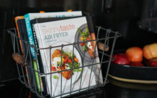 Don't let your cookbooks just sit on a shelf, cook with them