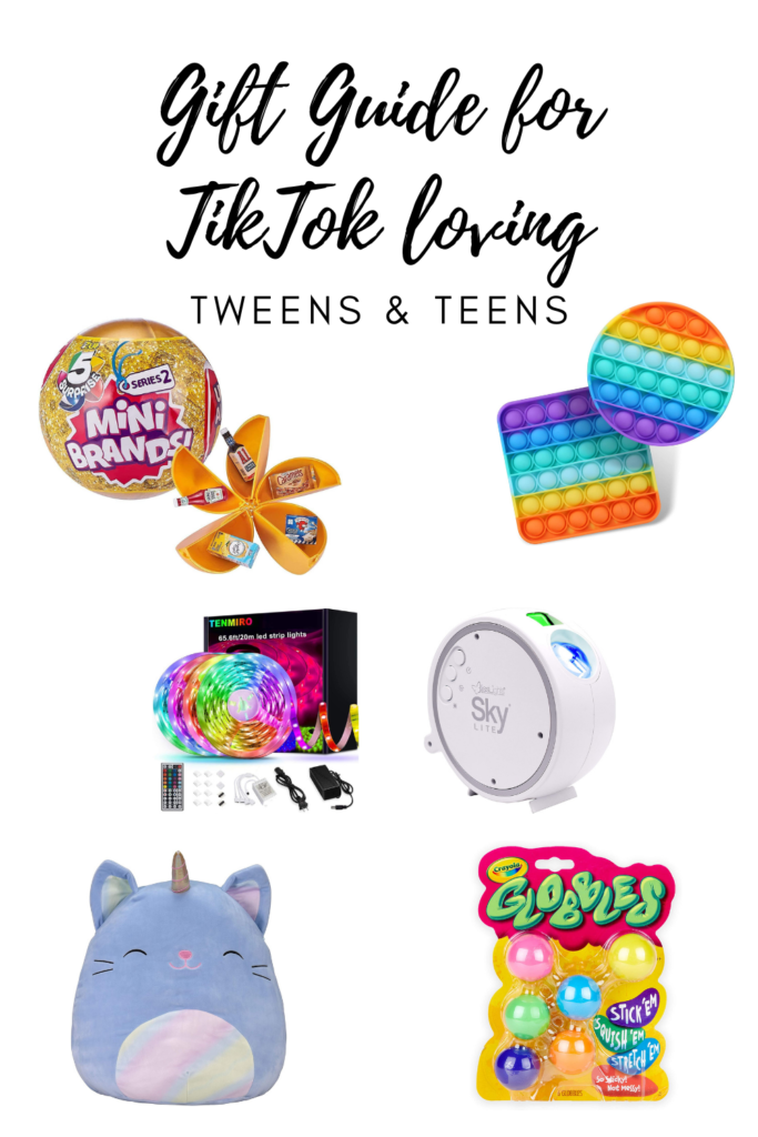 Gift Guide for TikTok loving tweens and teens